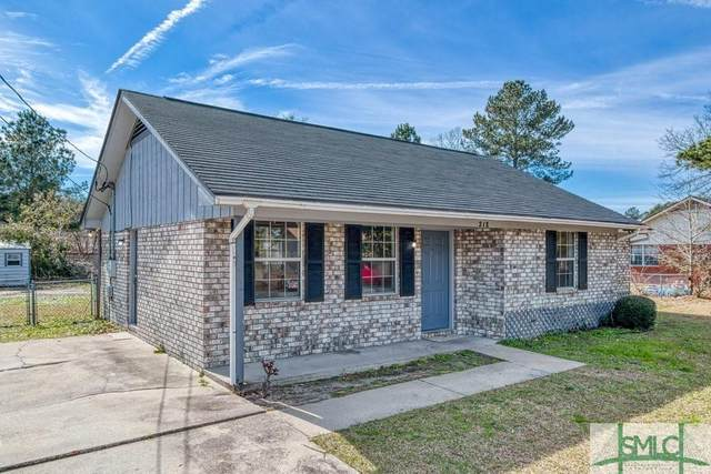 218 Sheila Drive, Hinesville, GA 31313 (MLS #242351) :: Coastal Savannah Homes