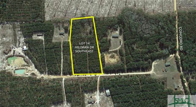 Lot 14 Hillman Drive SE, Ludowici, GA 31316 (MLS #242356) :: The Sheila Doney Team