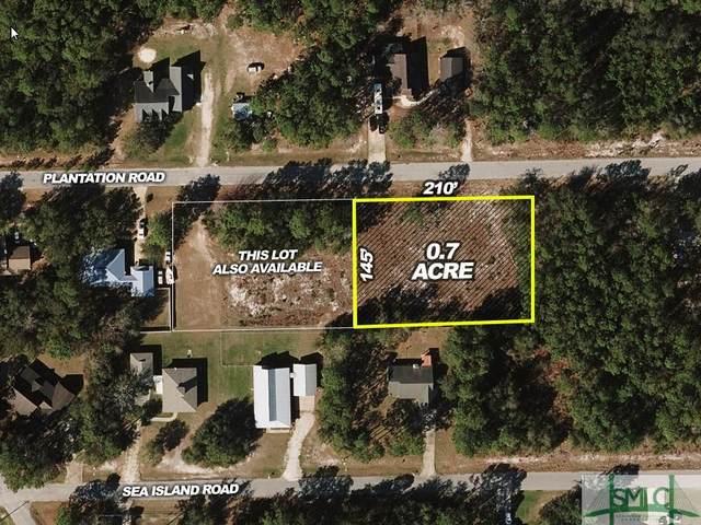 0 Plantation Road, Midway, GA 31320 (MLS #242692) :: Teresa Cowart Team