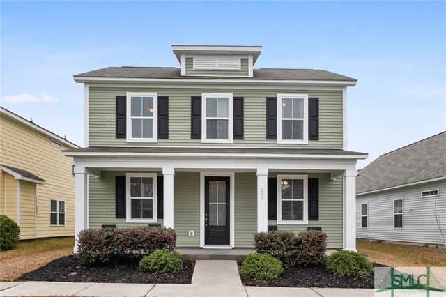 207 Dogwood Circle, Port Wentworth, GA 31407 (MLS #242753) :: The Arlow Real Estate Group