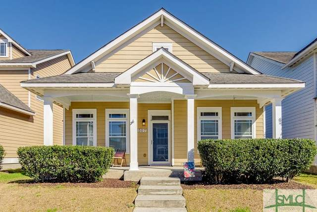 507 Flat Rock Trace, Port Wentworth, GA 31407 (MLS #243199) :: RE/MAX All American Realty