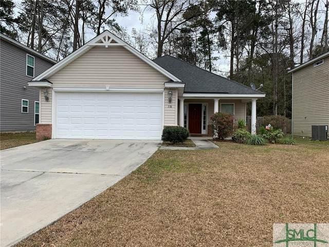 116 Calm Oaks Circle, Savannah, GA 31419 (MLS #243301) :: Keller Williams Realty-CAP