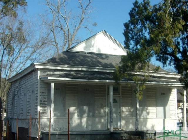 612 W 36th Street, Savannah, GA 31415 (MLS #243468) :: McIntosh Realty Team