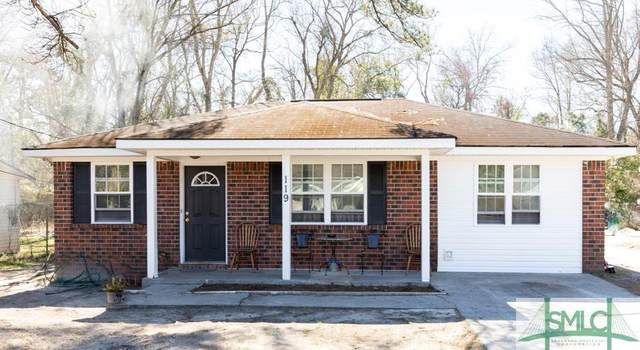 119 Stillwell Road, Springfield, GA 31329 (MLS #243521) :: The Arlow Real Estate Group