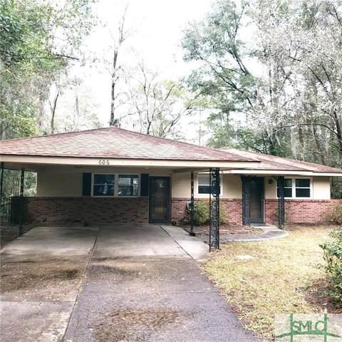 606 Jackson Boulevard, Savannah, GA 31405 (MLS #243845) :: The Sheila Doney Team