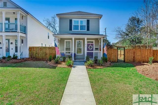 619 E Henry Street, Savannah, GA 31401 (MLS #244333) :: Bocook Realty