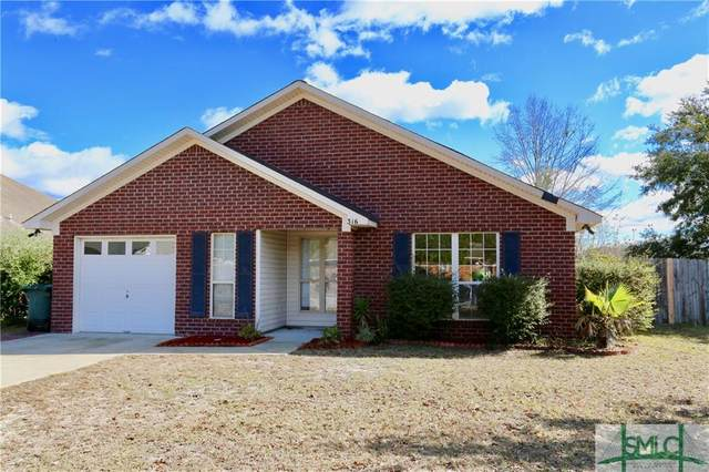 316 Clairemore Circle, Hinesville, GA 31313 (MLS #245602) :: RE/MAX All American Realty