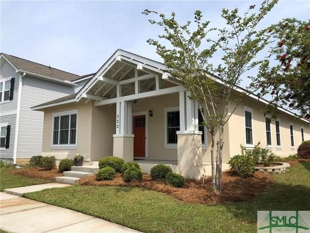 322 Crabapple Circle, Port Wentworth, GA 31407 (MLS #245643) :: The Arlow Real Estate Group