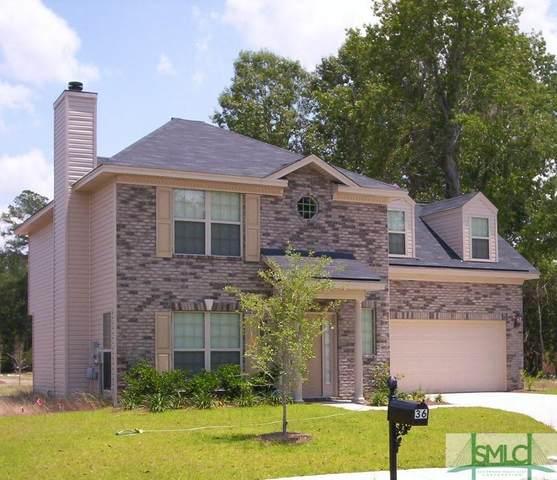 36 Waterstone Circle, Savannah, GA 31405 (MLS #245758) :: Bocook Realty