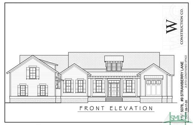 9 Strawberry Lane, Savannah, GA 31411 (MLS #246087) :: Heather Murphy Real Estate Group