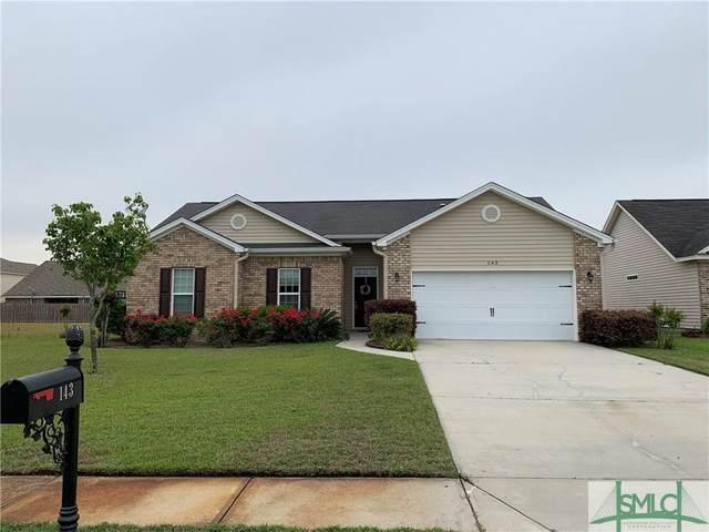 143 Brickhill Circle, Savannah, GA 31407 (MLS #246110) :: Savannah Real Estate Experts