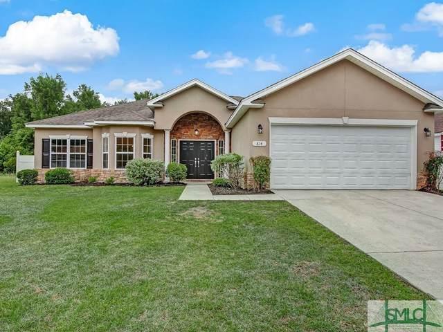 814 Hyacinth Circle, Guyton, GA 31312 (MLS #246620) :: The Arlow Real Estate Group