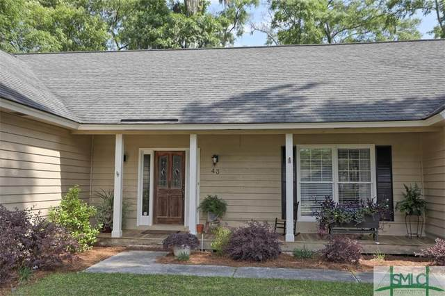 43 Ramsgate Road, Savannah, GA 31419 (MLS #247775) :: Keller Williams Coastal Area Partners
