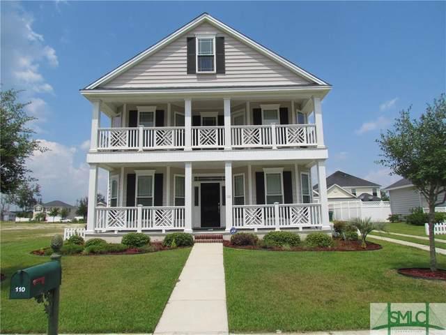 110 Savannah Lane, Richmond Hill, GA 31324 (MLS #248398) :: Coastal Savannah Homes