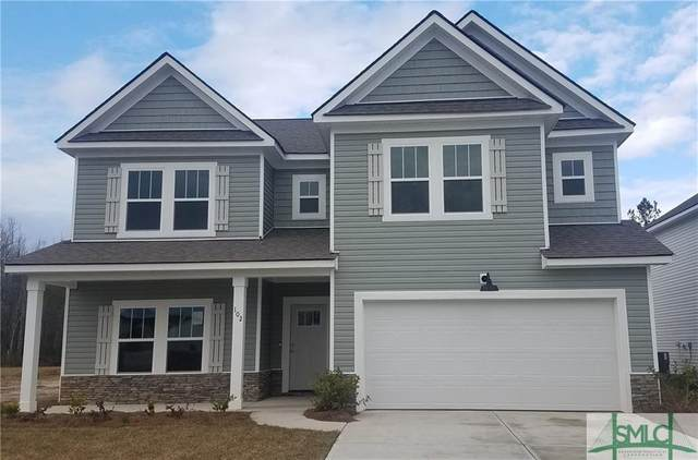 121 Pickett Fence Lane, Pooler, GA 31322 (MLS #248424) :: The Hilliard Group