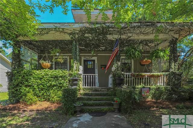 520 Lawton Avenue, Savannah, GA 31404 (MLS #248570) :: The Hilliard Group