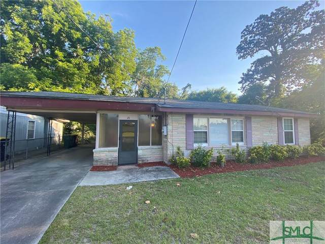 21 Wesley Street, Savannah, GA 31406 (MLS #250292) :: Teresa Cowart Team