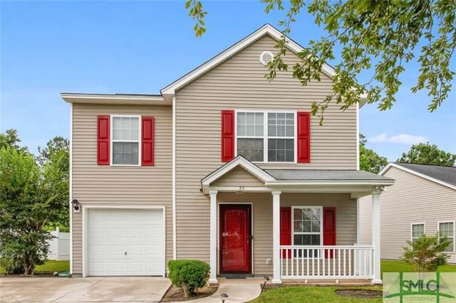 20 Hamilton Grove Drive, Pooler, GA 31322 (MLS #250509) :: Luxe Real Estate Services