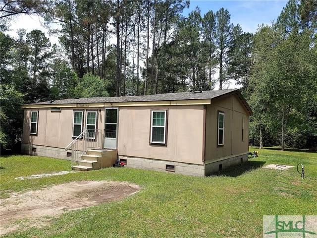 375 Beebe Road, Springfield, GA 31329 (MLS #250719) :: The Arlow Real Estate Group
