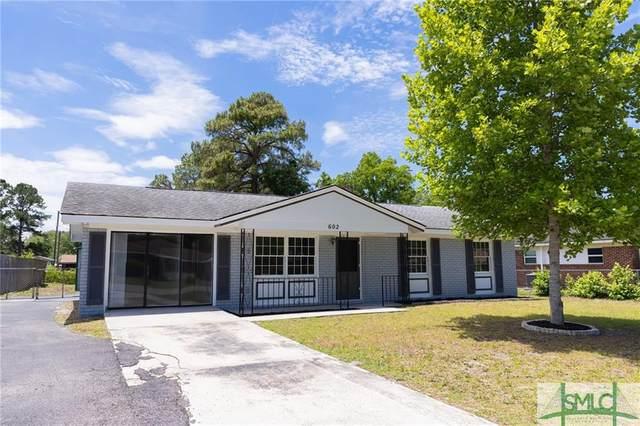 602 Palmetto Street, Hinesville, GA 31313 (MLS #250787) :: Keller Williams Coastal Area Partners