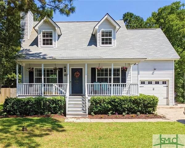 134 Stockbridge Drive, Savannah, GA 31419 (MLS #251182) :: Coastal Savannah Homes