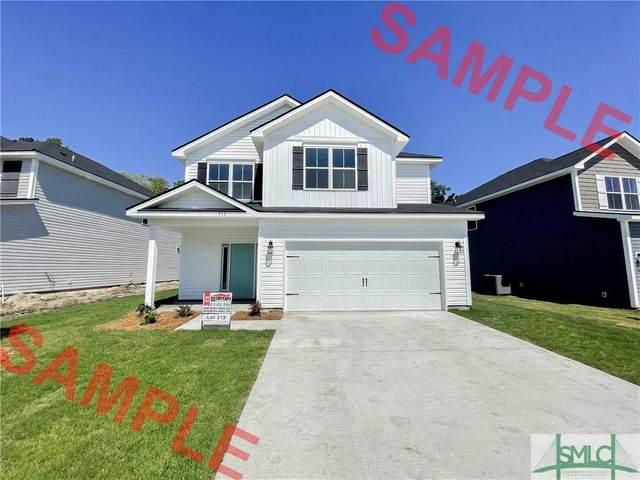 605 Fairview Circle, Hinesville, GA 31313 (MLS #251387) :: Keller Williams Coastal Area Partners