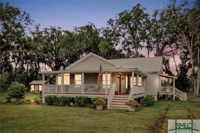 1218 Oak Creek Road, Riceboro, GA 31323 (MLS #254320) :: Coldwell Banker Access Realty