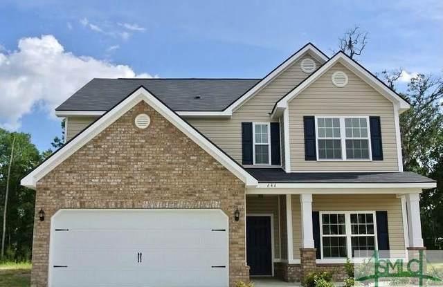 646 Red Oak Lane, Hinesville, GA 31313 (MLS #254376) :: Teresa Cowart Team