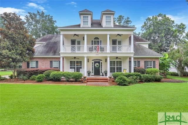 208 Hubener Drive, Rincon, GA 31326 (MLS #254562) :: Luxe Real Estate Services