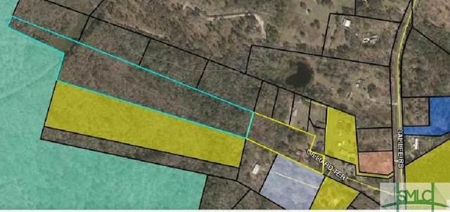 0 & 110 Gillard Terrace, Brunswick, GA 31523 (MLS #254626) :: Keller Williams Coastal Area Partners