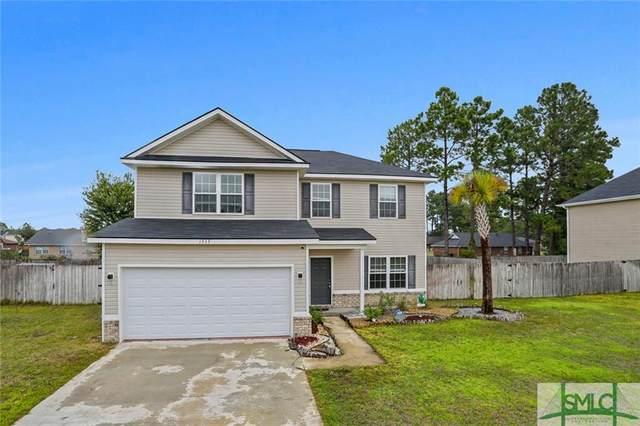 1513 Bayberry Drive, Hinesville, GA 31313 (MLS #254759) :: Keller Williams Realty Coastal Area Partners