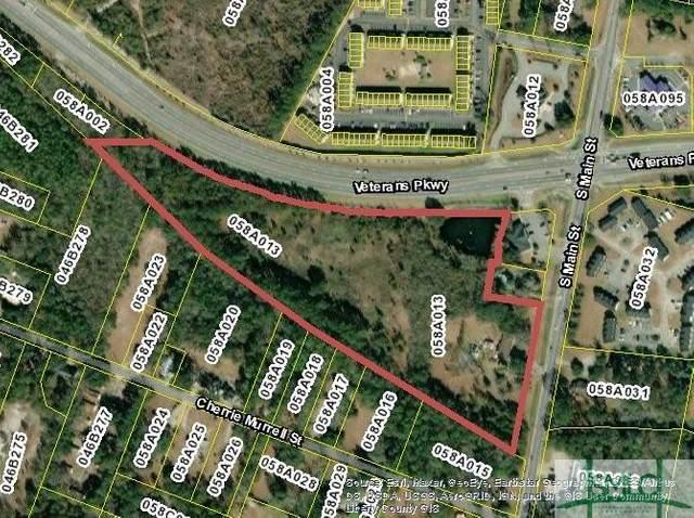12.78 AC Veterans Parkway, Hinesville, GA 31313 (MLS #255048) :: Heather Murphy Real Estate Group