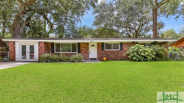 407 Briarcliff Circle, Savannah, GA 31419 (MLS #255147) :: Heather Murphy Real Estate Group