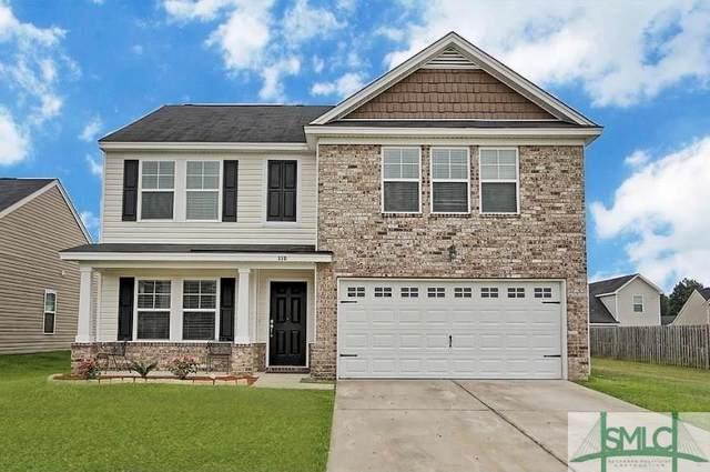 110 Roseberry Circle, Port Wentworth, GA 31407 (MLS #255324) :: Heather Murphy Real Estate Group