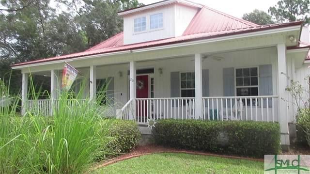 20 Plantation Road, Midway, GA 31320 (MLS #256902) :: Coastal Savannah Homes