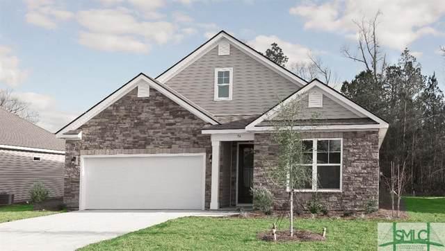 136 Oldwood Drive, Pooler, GA 31322 (MLS #257202) :: Coastal Savannah Homes