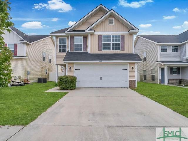 623 Amhearst Row, Hinesville, GA 31313 (MLS #257223) :: Coldwell Banker Access Realty
