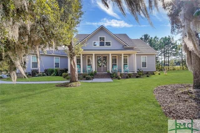 132 Lakewood Drive, Guyton, GA 31312 (MLS #257225) :: Coastal Savannah Homes