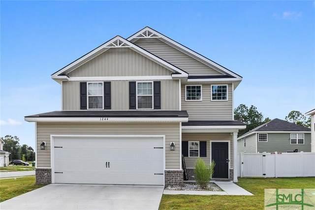 1244 Cypress Fall Circle, Hinesville, GA 31313 (MLS #257576) :: Keller Williams Realty Coastal Area Partners