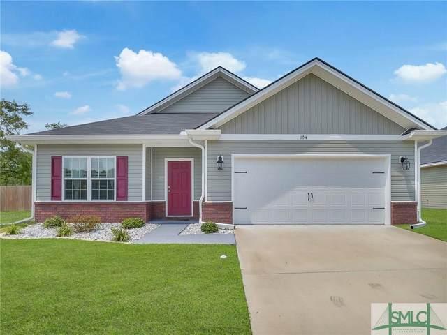 104 Brasher Drive, Hinesville, GA 31313 (MLS #257678) :: Keller Williams Realty Coastal Area Partners