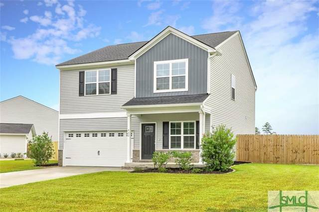 622 Majestic Drive, Guyton, GA 31312 (MLS #257812) :: The Allen Real Estate Group