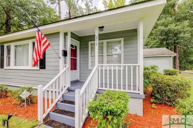 218 Brandywine Road, Savannah, GA 31405 (MLS #257914) :: The Allen Real Estate Group