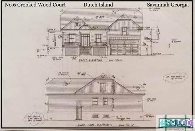6 Crooked Wood Court, Savannah, GA 31406 (MLS #259282) :: Keller Williams Realty Coastal Area Partners