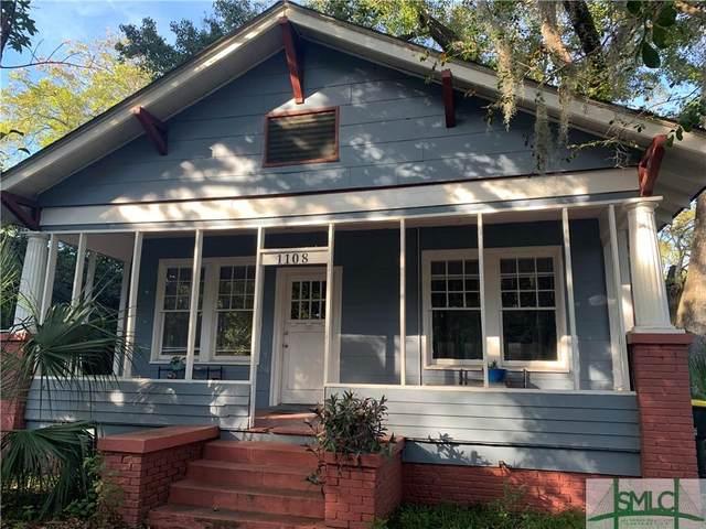 1108 E 38th Street, Savannah, GA 31404 (MLS #259800) :: The Allen Real Estate Group