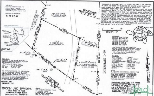 0 Pine Barren Road, Pooler, GA 31322 (MLS #259886) :: The Arlow Real Estate Group