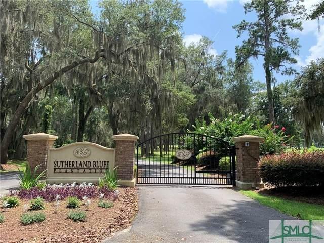 39 Sutherland Bluff Drive, Townsend, GA 31331 (MLS #260287) :: Liza DiMarco