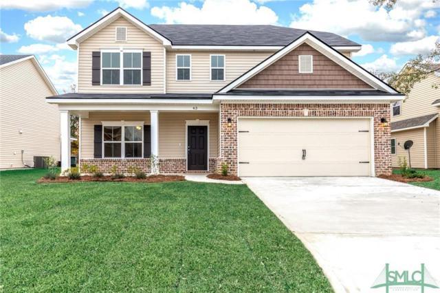43 Teal Lake Drive Drive, Savannah, GA 31419 (MLS #179334) :: Coastal Savannah Homes