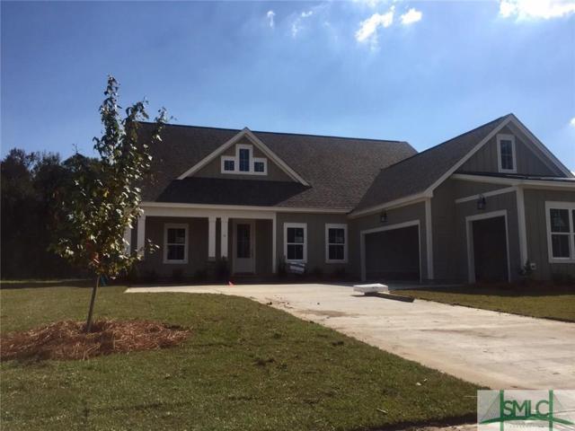 8 Moss Lane, Pooler, GA 31322 (MLS #181708) :: Coastal Savannah Homes