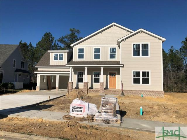 120 Tupelo Street, Pooler, GA 31322 (MLS #183225) :: Coastal Savannah Homes