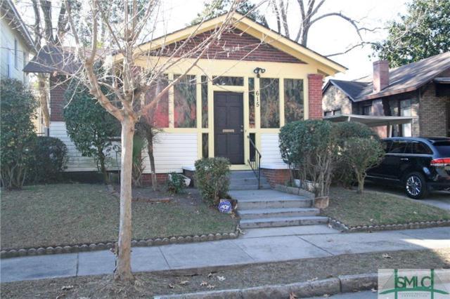 615 Seiler Avenue, Savannah, GA 31401 (MLS #183726) :: Coastal Savannah Homes